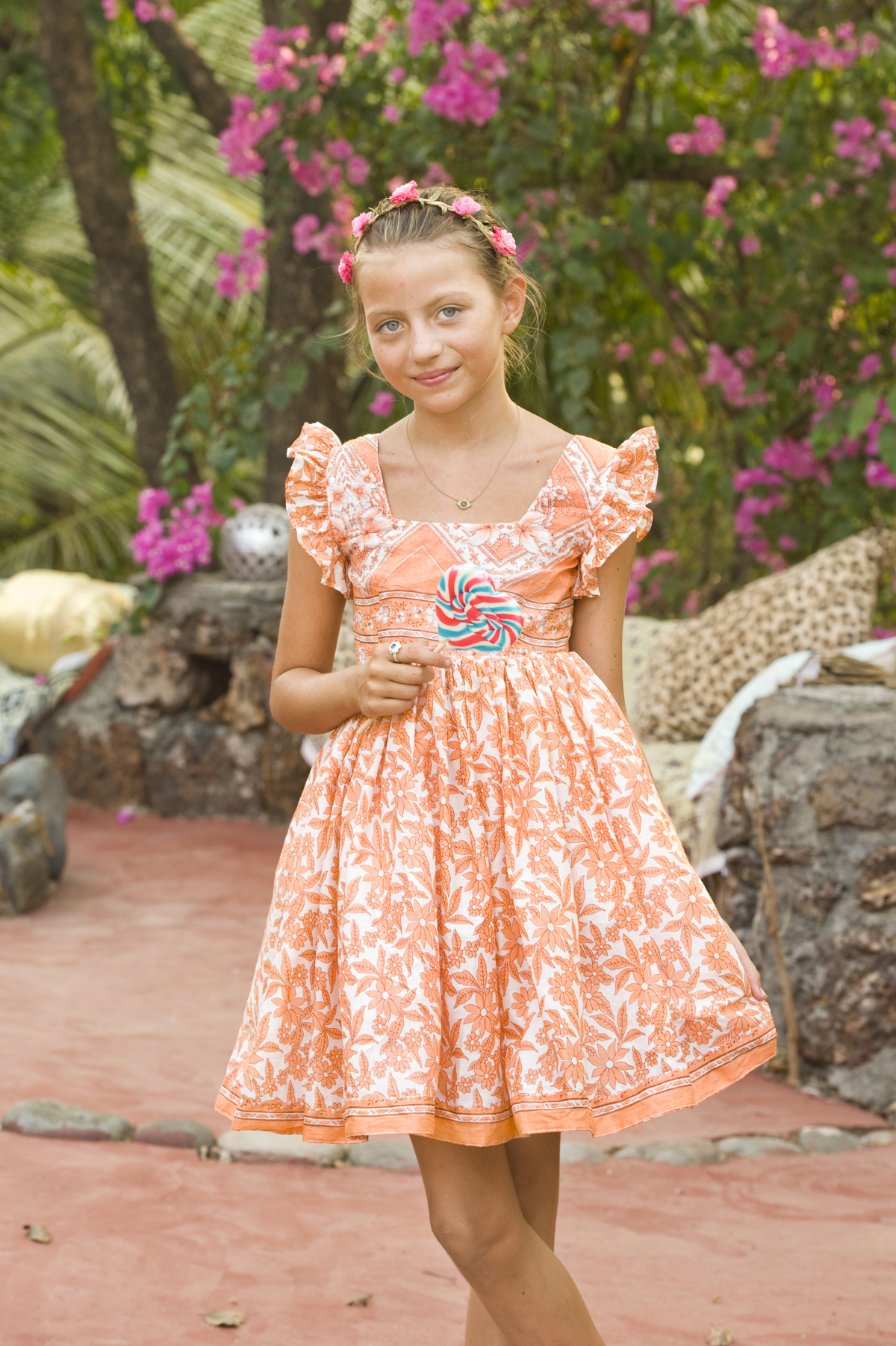 fashion Goa dress beauty flowers Nessy Dress